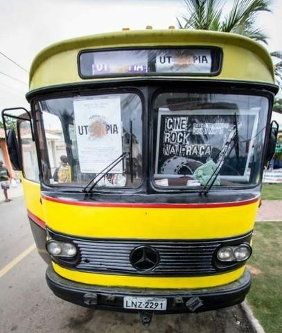 Ônibus Monobloco, mecânica ok e pneus novos - Troco por Van ou Carro do meu interesse - Foto 3