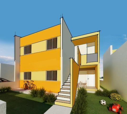 Casa Pronta - Financiamento caixa ou banco do brasil - 2 quartos - Pronta em Rendeiras - Foto 4