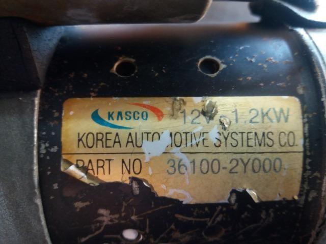 Motor De Arranque Kia Carens 2001 Com Garantia 36100-2Y000 - Foto 5