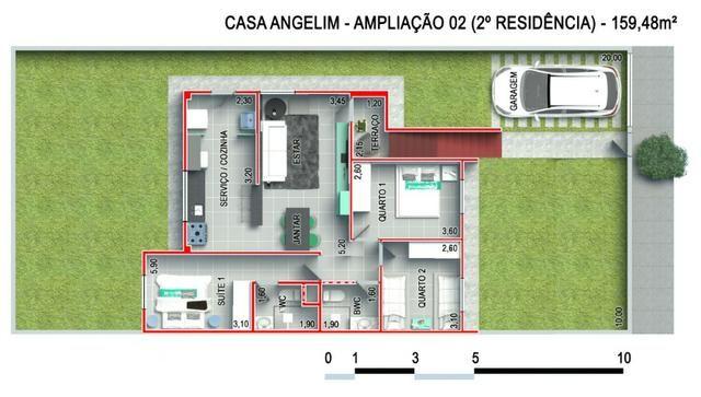Casa Pronta - Financiamento caixa ou banco do brasil - 2 quartos - Pronta em Rendeiras - Foto 5