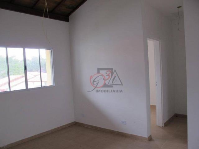 Casa nova 2 dormitorios, 1 suite, 2 vagas, piscina, em condominio Km 44 da Raposo. - Foto 12