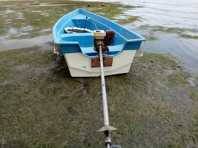 Barco de Fibra 6mt comp por 1.80 boca - Foto 5