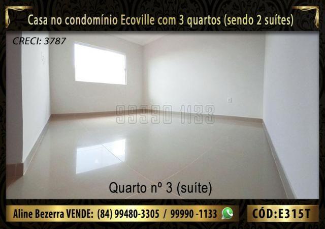 Oportunidade, casa no Ecoville com 3 quartos sendo 2 suítes, aceita financiamento - Foto 12