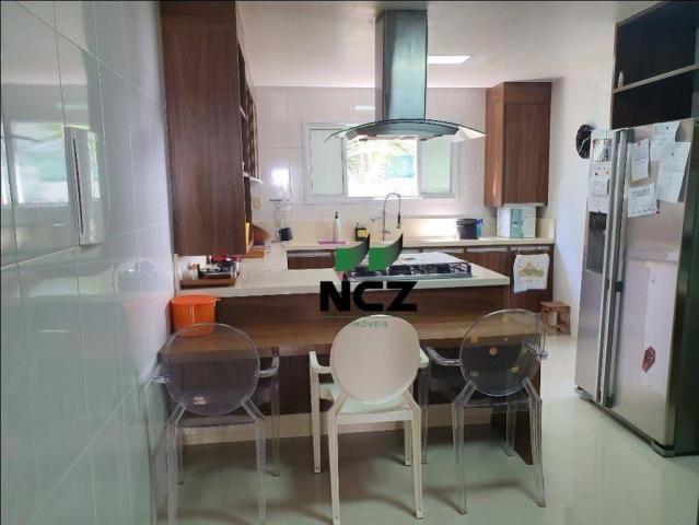 Casa lindíssima 4 suítes em alphaville litoral norte 1!!! - Foto 11