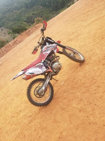 CRF 230f ( preparada p/ 250 ) + Escape DORE ( Troco por moto de rua )