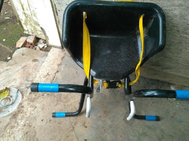 Bicicleta + cadeirinhas - Foto 2