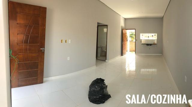 Casa nova financiável, bairro placas - Foto 4