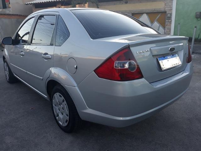 Fiesta Sedan 1.6 8V Class Flex + Gnv 2010 (IPVA 2020 Quitado) - Foto 4