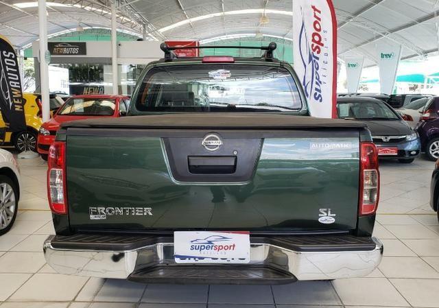Nissan Frontier 2014 4x4 SL 190cv Extra !! - Foto 6