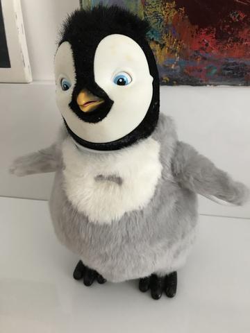 Happy Feet - boneco que canta e dança do filme