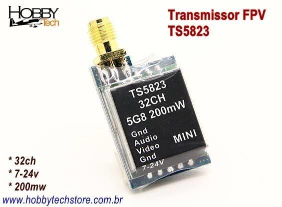 Transmissor Fpv 5.8g 32ch 200mw - Foto 2
