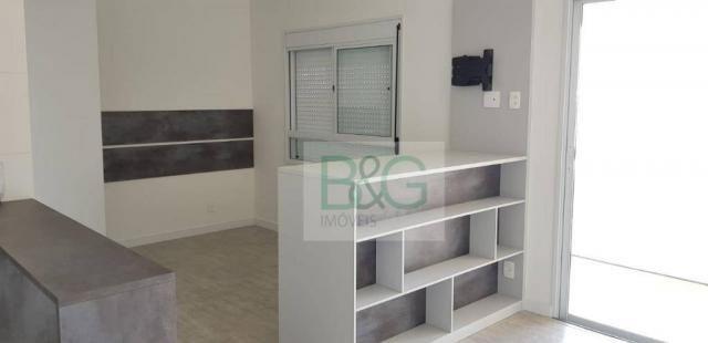 Studio com 1 dormitório para alugar, 34 m² por r$ 2.101,00/mês - ipiranga - são paulo/sp - Foto 16