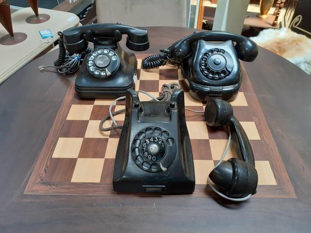 TELEFONE ANTIGO DECORATIVO Mercado das Pulgas *10X parc. - Foto 4