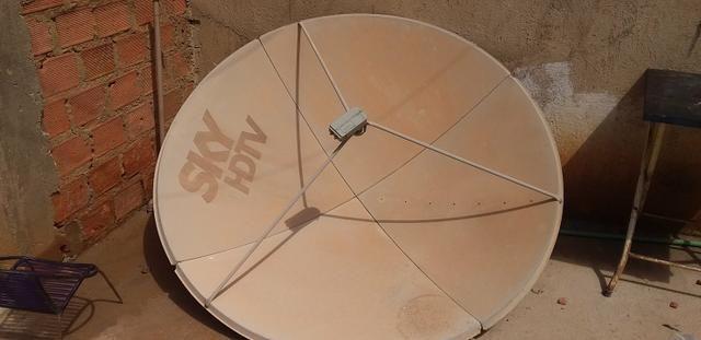 Desapegando 50 reais antena sky - Foto 3