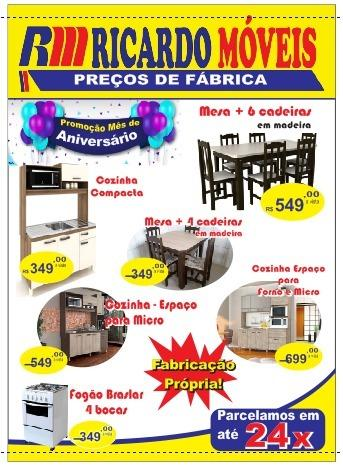 Cozinha compacta so 349,00 preço da fabrica - Foto 3