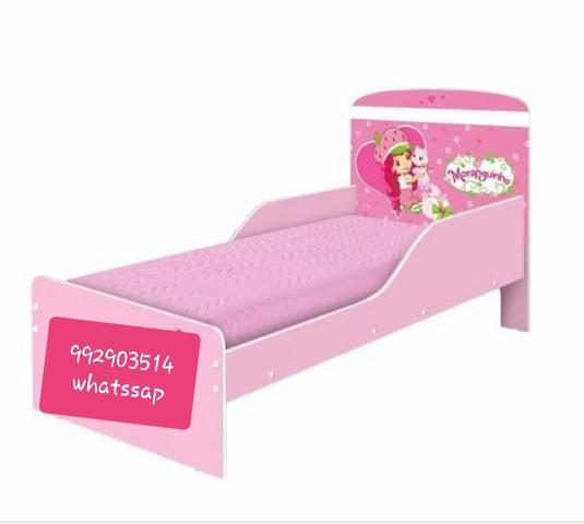 Mini cama moranguinho + COLCHÃO promoção entrega e montagem grátis - Foto 2