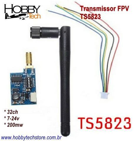 Transmissor Fpv 5.8g 32ch 200mw - Foto 4