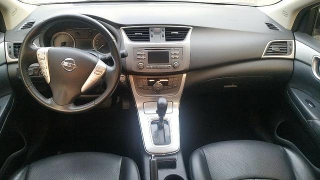 Sentra Automático 2014 Branco Pérola - Sem Retoques - Impecável - Ipva Pago até Nov/2020 - Foto 7