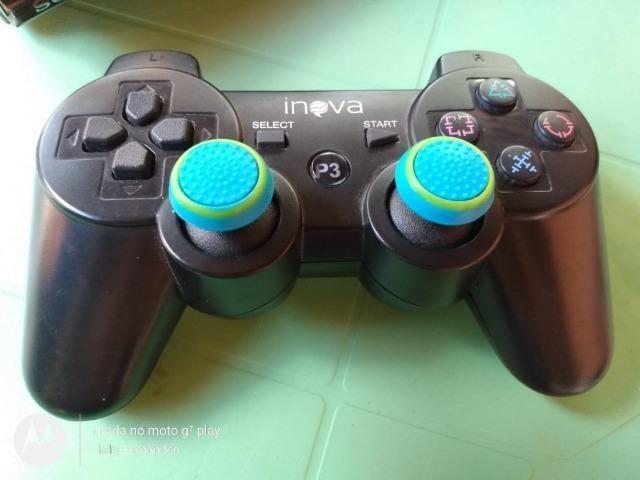 Playstation 3 com 30 jogos + 2 emuladores com 60 jogos - Foto 6