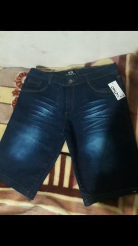 Vendo essa bermuda jeans nova n 46