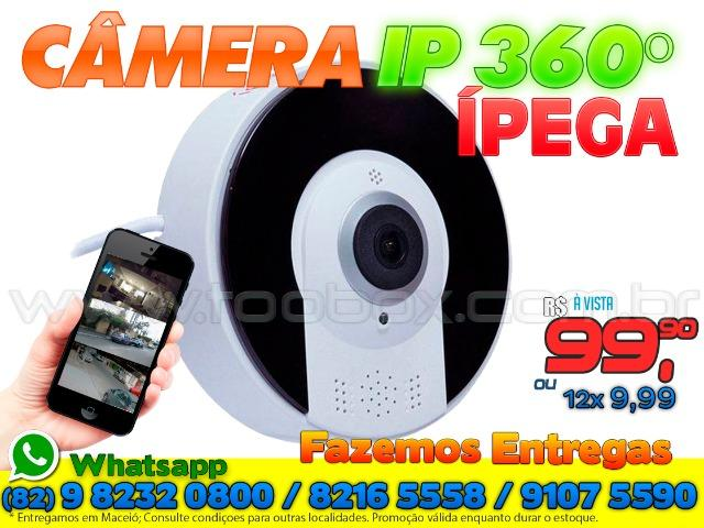 Câmera IP 360 Graus Wifi -Fazemos Entregas