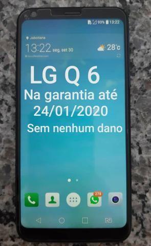 Celular lg q6 semi novo - Foto 2