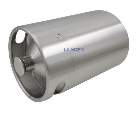 Barril de 5 Litros em Aço Inox Keg - Realengo - Foto 6