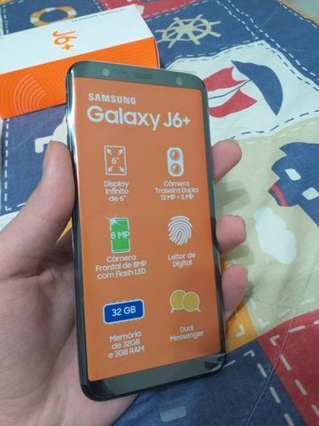 Samsung J6 Plus com nota