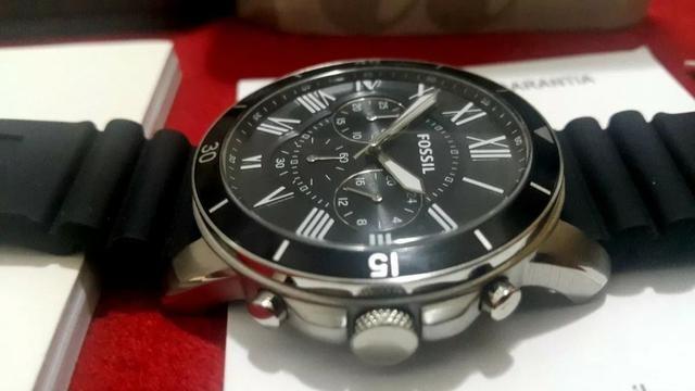 Relógio Fossil Grant Sport Preto Cronógrafo Casual Quartz ... d4f5ef22b8