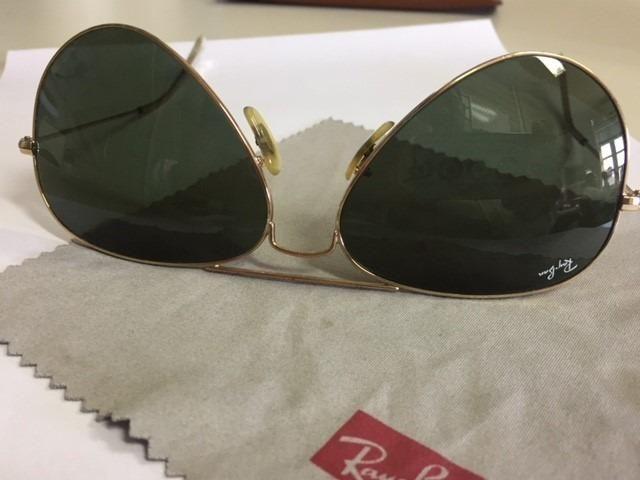2c9e72f051a0a Óculos ray ban original nº 58 verde escuro - Bijouterias, relógios e ...