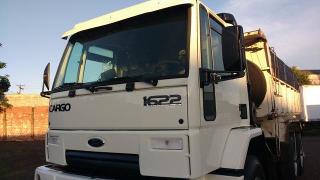 Ford Cargo 1622 truck 6x2 com caçamba Rosseti 10m3 unico dono - Foto 10