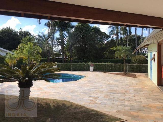 Casa com 4 dormitórios para alugar, 578 m² por R$ 12.000,00/mês - Condomínio Helvetia Coun - Foto 8