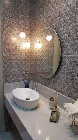 Sobrado à venda, 490 m² por R$ 2.400.000,00 - Alphaville Flamboyant Residencial Araguaia - - Foto 5