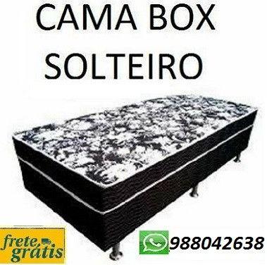 Otimo Desconto!!Mega Oferta de Cama Box Solteiro Nova Embalada Com Frete Gratis!!