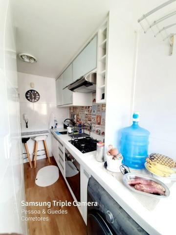 Apartamento 2 Quartos 1 Vaga 49 m² com Lazer Móveis Planejados Aceita Permuta - Foto 19