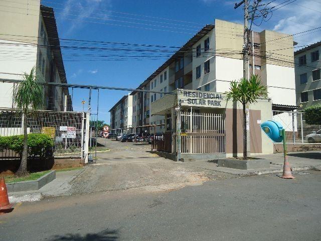 Apartamento 2 Q no Cond. Solar Parck