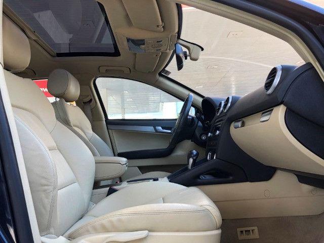Audi A3 Sportback 2.0 Tfsi S-tronic ano: 2010 Top Blindado Impecavel - Foto 15