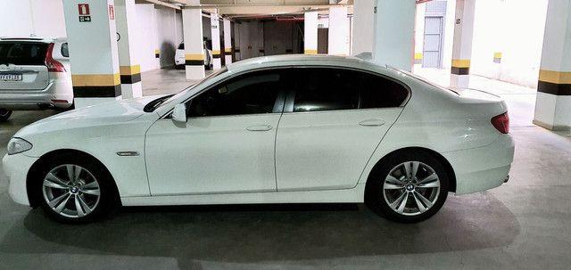 Torro! Ipva Pago!!! BMW 528I 2.0 Turbo - Top de Linha, 2013, interior Caramelo, 245 Cv - Foto 3