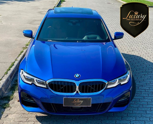 BMW 330i 2020 Azul M-Sport - Foto 2