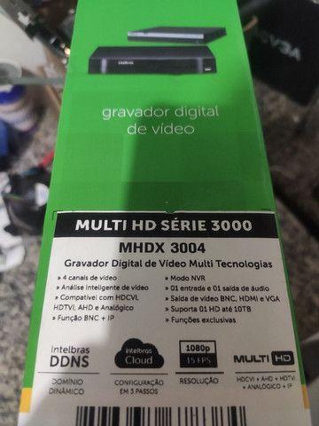 DVR Standalone Intelbras 4 canais FULLHD - Foto 2