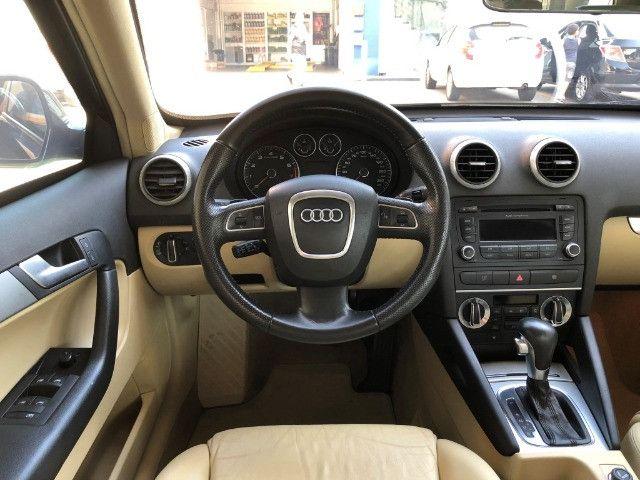 Audi A3 Sportback 2.0 Tfsi S-tronic ano: 2010 Top Blindado Impecavel - Foto 16