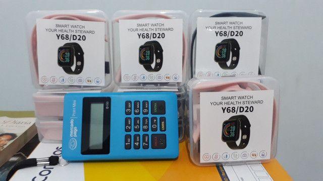 Relógio digital inteligente smartwatch - Foto 2