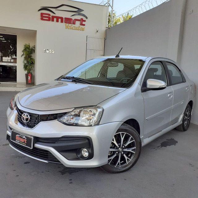 Smart Veículos - Toyota Etios Platinum Automático, 17/2018, 41.211 Km. R$ 54.900,00 - Foto 2