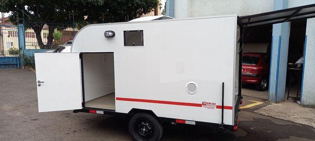 Mini trailer família - Foto 2