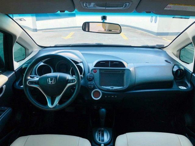Honda Fit Ex 1.5 Automático - 2014 Com Couro - Foto 7