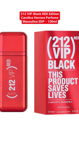 212 VIP BLACK (RED)