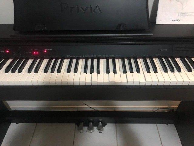 Piano Eletronico Casio Privia PX-750