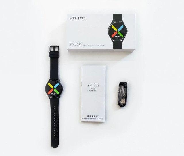 Smartwatch Xiaomi Imilab Kw66 Preto - Foto 2