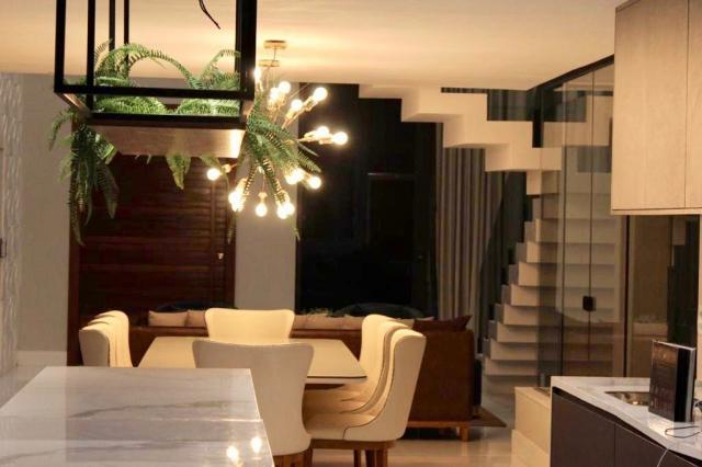 Maravilhosa casa de condomínio com 4 suítes Alphaville Litoral Norte 1 Camaçari BA - Foto 9