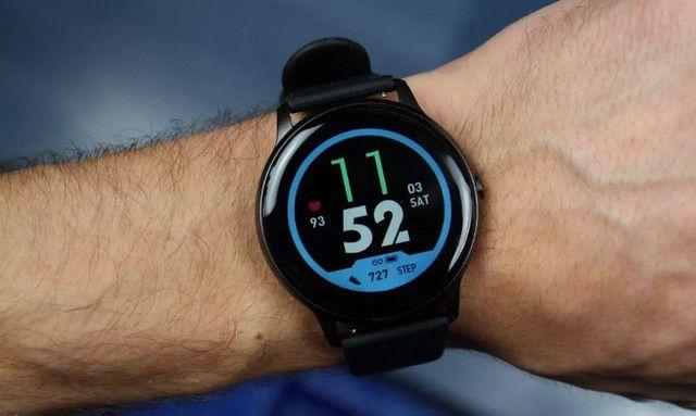 Smartwatch Xiaomi Imilab Kw66 Preto - Foto 5
